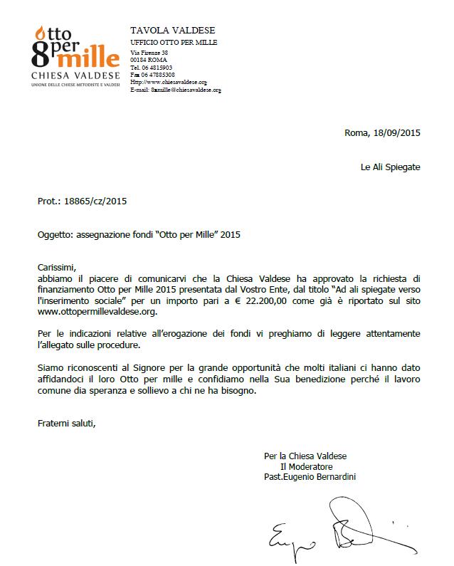 Notizie - Tavola valdese progetti approvati 2015 ...